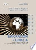 Libro de Emigración Y Lengua