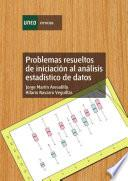 Libro de Problemas Resueltos De Iniciación Al Análisis Estadístico De Datos