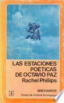 Libro de Las Estaciones Poéticas De Octavio Paz