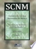 Libro de Sistema De Cuentas Nacionales De México. Cuentas Por Sectores Institucionales 1996 2001. Tomo I