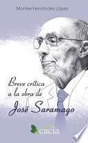 Libro de Breve Crítica A La Obra De José Saramago