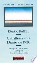 Libro de Caballería Roja. Diario De 1920