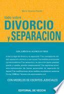 Libro de Todo Sobre Divorcio Y Separación
