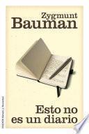 Libro de Esto No Es Un Diario