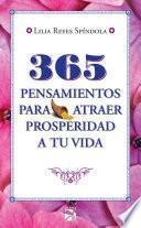 Libro de 365 Pensamientos Para Atraer Prosperidad A Tu Vida