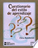 Libro de Cuestionario Del Estilo De Aprendizaje