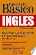 Libro de Domine Lo Básico  Inglés