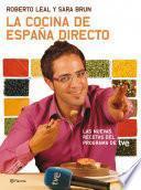 Libro de La Cocina De España Directo