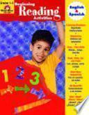 Libro de Beginning Reading Activities