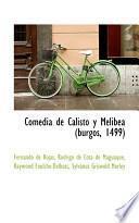 Libro de Comedia De Calisto Y Melibea (burgos, 1499)