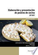 Libro de Uf1097   Elaboración Y Presentación De Postres De Cocina