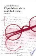 Libro de El Problema De La Realidad Social