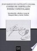 Libro de Juan Basilio De Castellví Y Coloma Conde De Cervellón