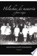 Libro de Hilachas De Memoria Y Fotos Viejas