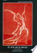 Libro de El Arte De La Danza Y Otros Escritos