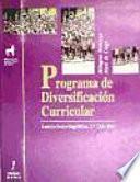 Libro de Programa De Diversificación Curricular