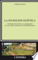 Libro de La Invención Estética