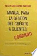 Libro de Manual Para La Gestión Del Crédito A Clientes