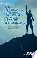 Libro de MotivaciÓn, Inteligencia Emocional Y Actividad FÍsica En Universitarios