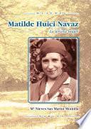 Libro de Matilde Huici Navaz