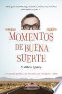Libro de Momentos De Buena Suerte