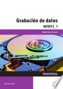 Libro de Mf0973_1   Grabación De Datos