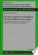 Libro de Estudio Cognitivo Contrastivo De Las Metáforas Del Cuerpo
