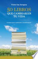Libro de 50 Libros Que Cambiarán Tu Vida