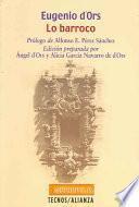 Libro de Lo Barroco