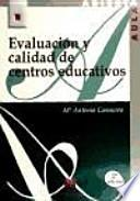 Libro de Evaluación Y Calidad De Centros Educativos