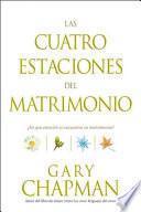 Libro de Las Cuatro Estaciones Del Matrimonio