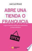 Libro de Abre Una Tienda O Franquicia