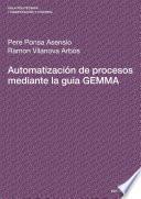Libro de Automatización De Procesos Mediante La Guía Gemma