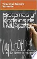 Libro de Modelos Y Sistemas De Inventarios