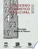 Libro de Tacotalpa Estado De Tabasco. Cuaderno Estadístico Municipal 1998