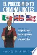 Libro de El Procedimiento Criminal Ingls
