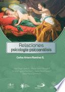 Libro de Relaciones PsicologÍa PsicoanÁlisis