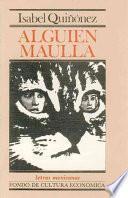 Libro de Alguien Maúlla