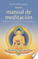 Libro de Nuevo Manual De Meditación