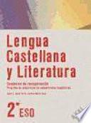 Libro de Lengua Castellana Y Literatura, 2 Eso. Programa De Adquisición De Competencias Lingüísticas, Cuaderno De Recuperación