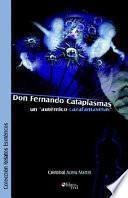 Libro de Don Fernando Cataplasmas Un Autentico Cazafantasmas