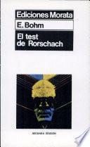 Libro de El Test De Rorschach