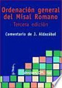 Libro de Ordenación General Del Misal Romano