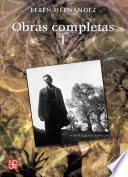 Libro de Obras Completas, I