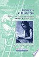 Libro de Género E Historia