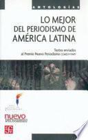 Libro de Lo Mejor Del Periodismo De América Latina