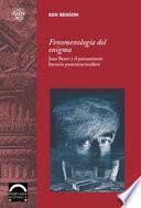 Libro de Fenomenología Del Enigma