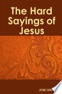 Libro de The Hard Sayings Of Jesus