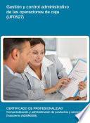Libro de Uf0527   Gestión Y Control Administrativo De Las Operaciones De Caja