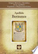 Libro de Apellido Berzunce